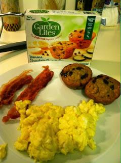 Cook scrap craft garden lites muffins review - Garden lites blueberry oat muffins ...