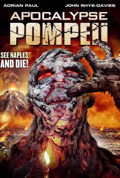 Poster Of English Movie Apocalypse Pompeii (2014) Free Download Full New Hollywood Movie Watch Online At Alldownloads4u.Com