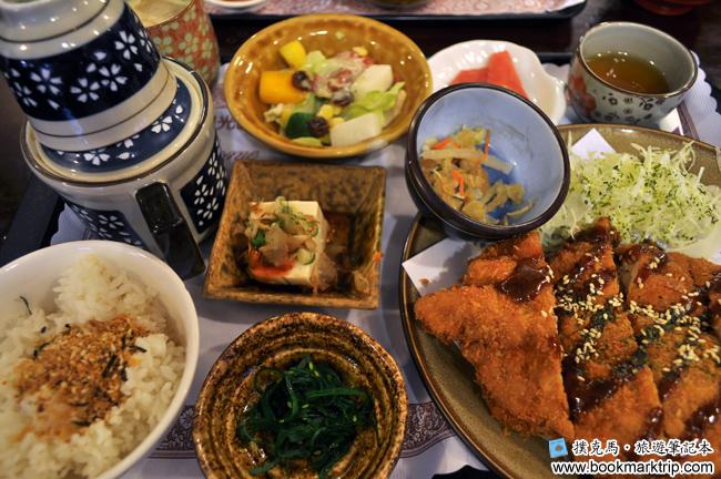 三好狸日式定食超厚切赤味噌炸雞腿排定食