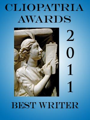 2011 Cliopatria Award: Best Writer icon