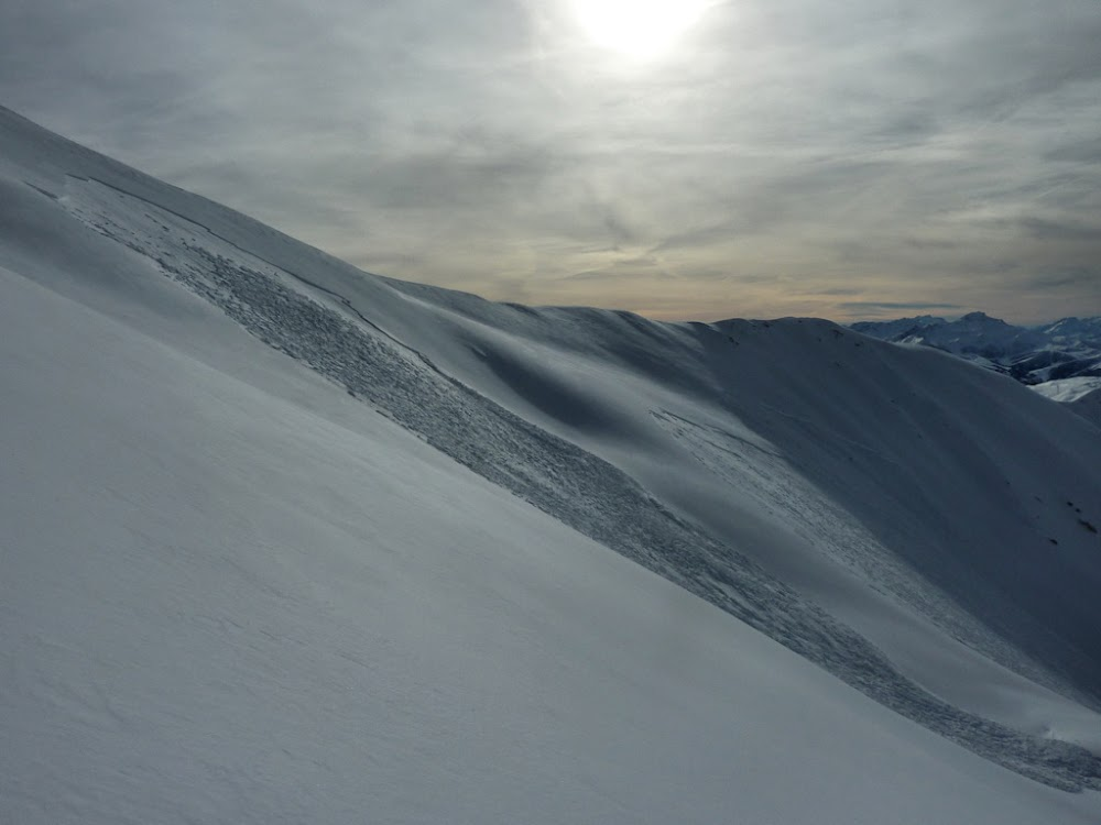 Avalanche Beaufortain, secteur Crêt du Rey, Pointe de la Combe Bénite - Photo 1