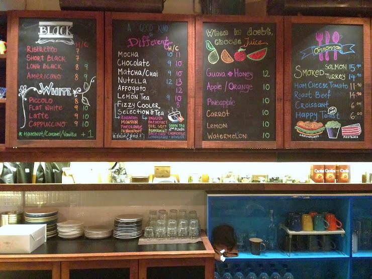 Rekindle Coffee SS2 menu