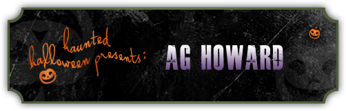 Haunted Halloween with A.G. Howard and a Giveaway