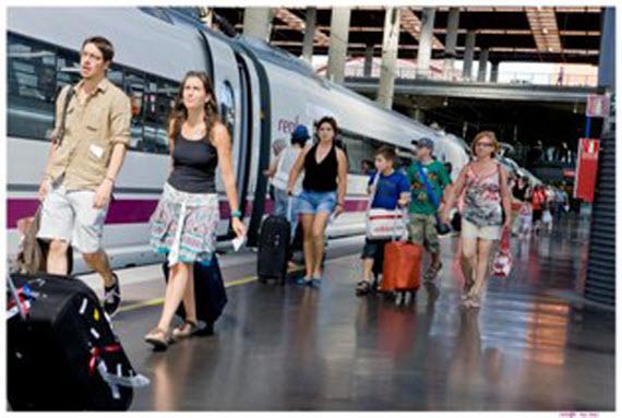 Más trenes Altaria Madrid-Algeciras durante los fines de semana de verano