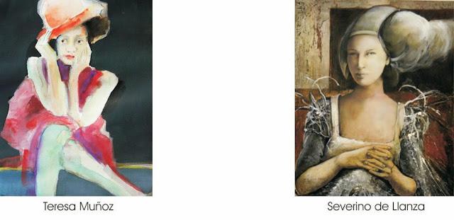 Retratos por encargo, Tersa Muñoz y Severino de Llanza