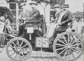 Sejarah otomotif, 10 kejadian pertama dunia otomotif, balapan mobil pertama, juara balap mobil pertama