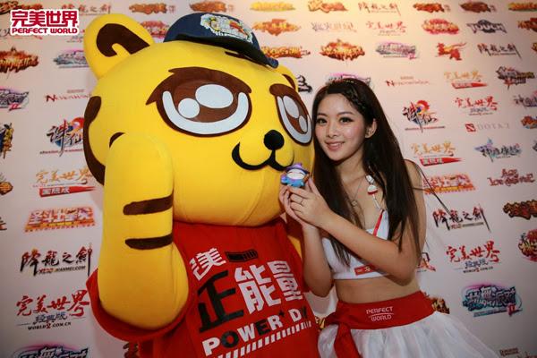 Ngắm dàn mỹ nữ của Perfect World tại ChinaJoy 2013 13