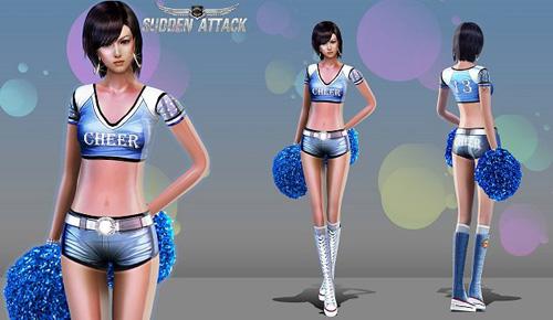 Sudden Attack ra mắt trang phục hoạt náo viên 2