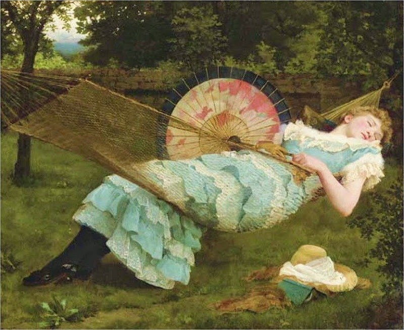 Valentine Cameron Prinsep - Sweet Repose