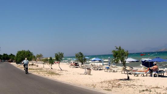 plaża Tigaki Kos