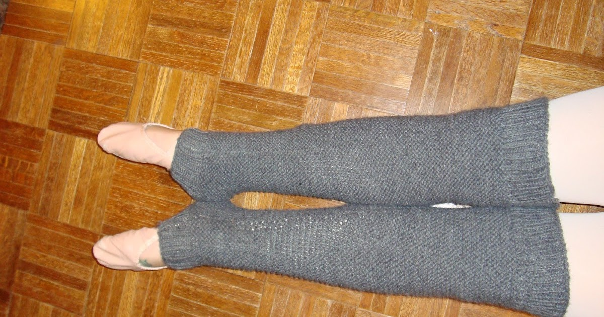 Knitting Patterns Leg Warmers Ballet : Knitting, Ballet, and Italian: Ballet Leg-Warmers Knitting Pattern