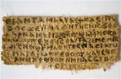 Vatican Paper Weighs On Jesus Wife Scrap Fake