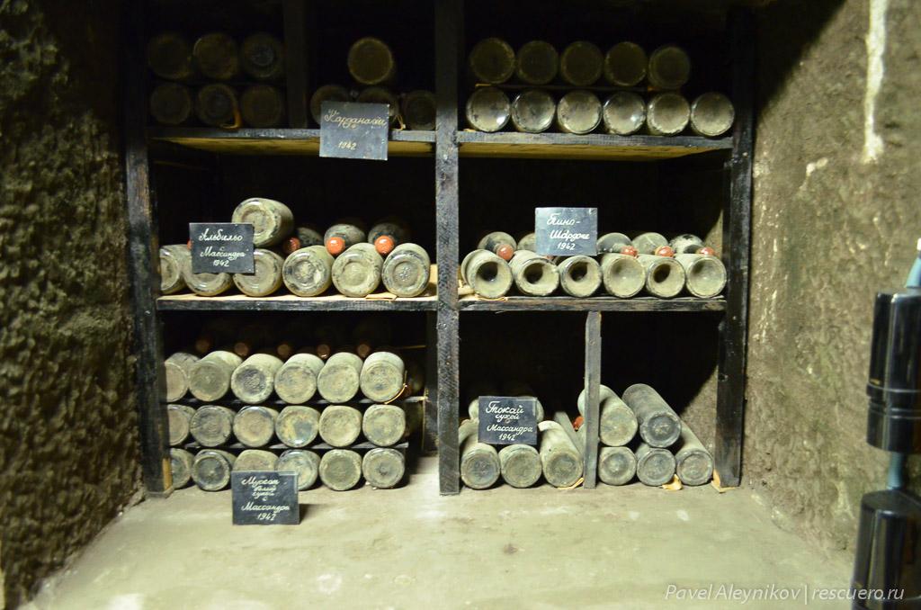 Вино, изготовленное при немецкой оккупации Крыма