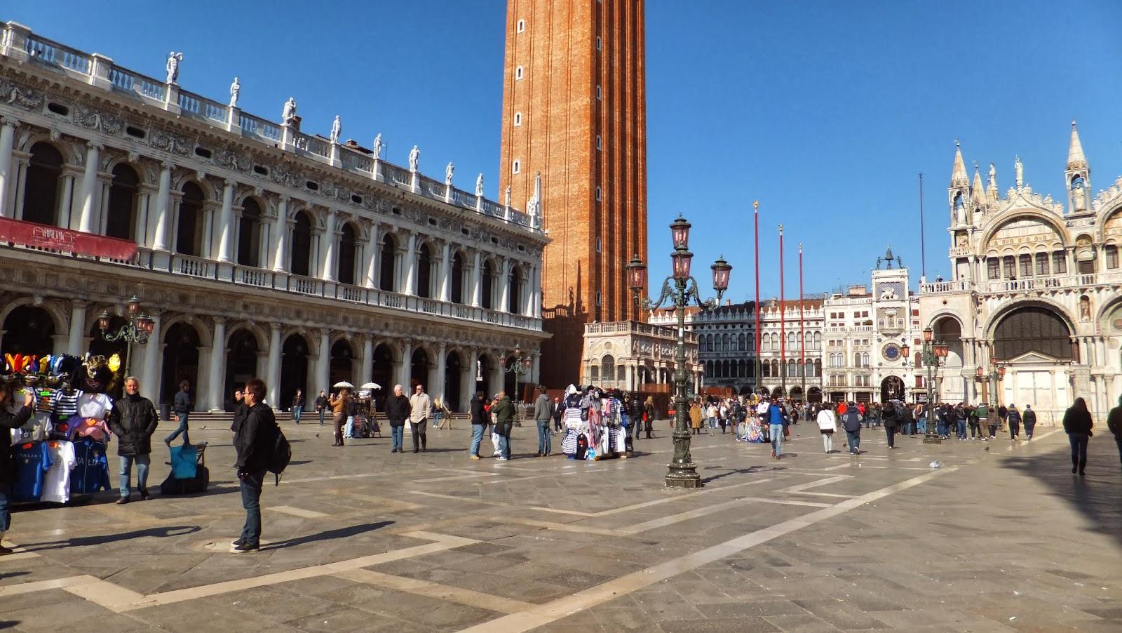 Piazza San Marco, Canalazzo, Venecia, Venezia, Italia, Elisa N, Blog de Viajes, Lifestyle, Travel