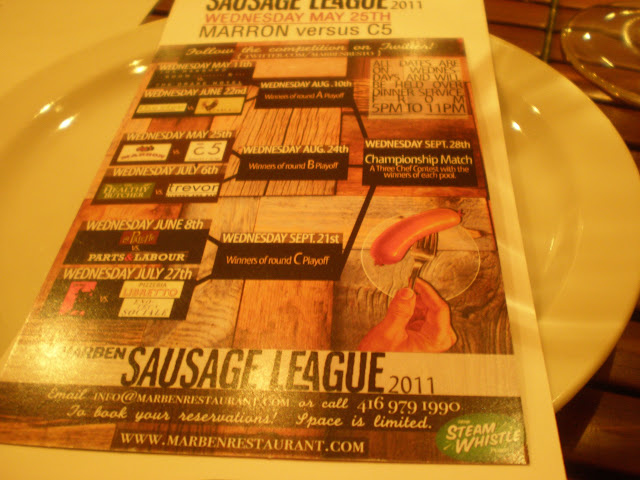 The full Sausage League card.
