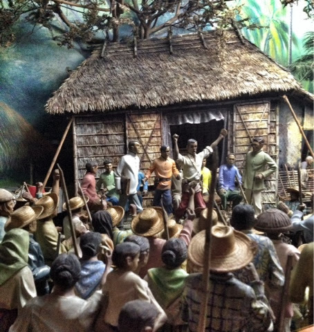 Diorama of Philippine Revolution