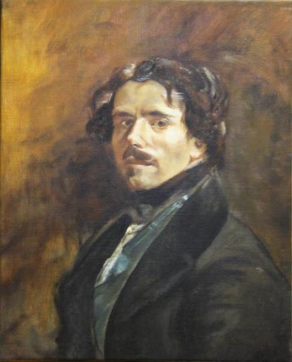 Autoportrait de Delacroix