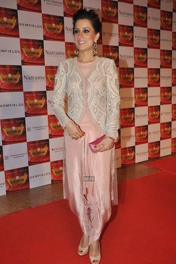 Rouble Nagi during the 10th Annual Gemfields and Nazraana Retail Jeweller India Awards, 2014, in Mumbai, on July 19, 2014. (Pic: Viral Bhayani)