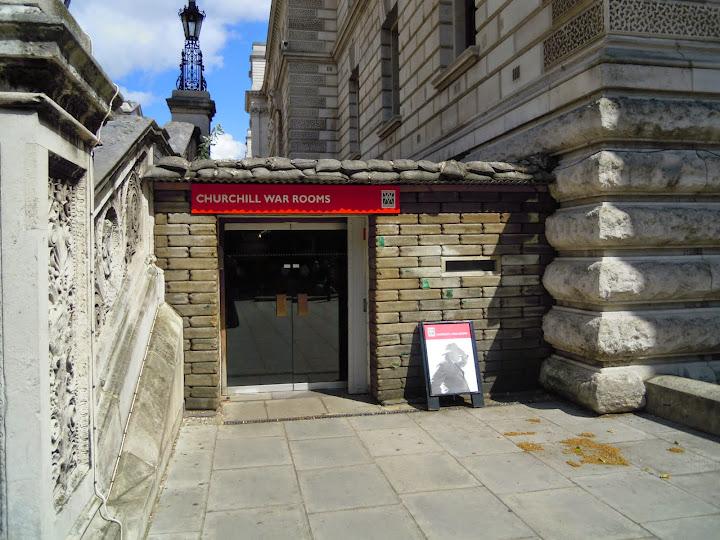 Churchill War Rooms. From London Top 10