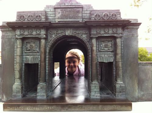 Mémorial Ypres porte Menen