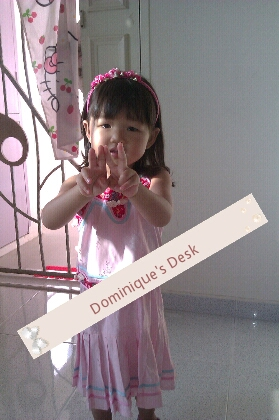 Tiger Girl in her CNY Costume