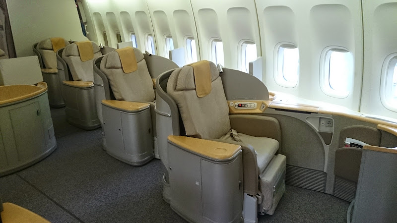 DSC 0617 - REVIEW - Asiana Airlines : First Class - Seoul Incheon to Tokyo Narita (B747)