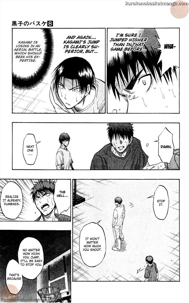 Kuroko no Basket Manga Chapter 62 - Image 11