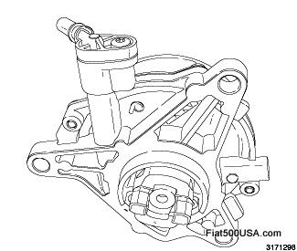 Fiat 500 Vacuum Pump