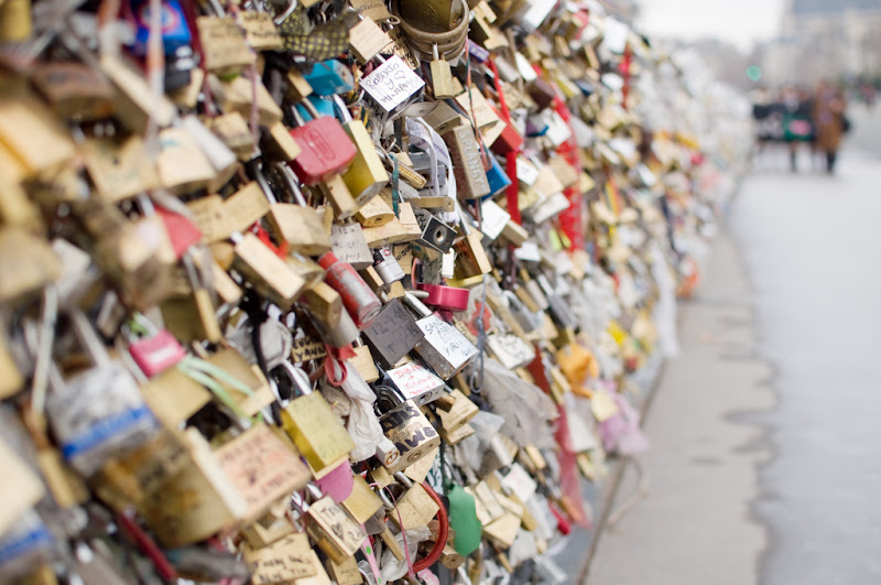 Love Locks by Martin Isaac