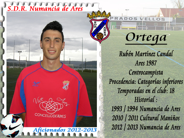 ADR Numancia de Ares. Ortega.
