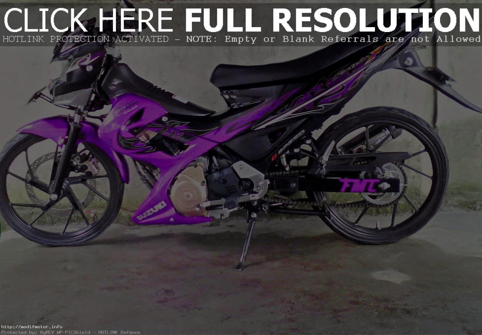Suzuki Satria 150 Modifikasi