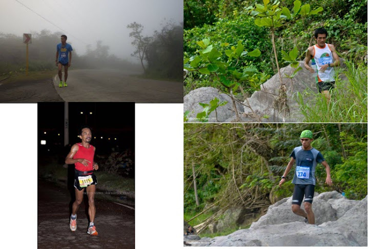 cebu male ultra runners - jieter bada, noel tillor, demetrio alvarez, paul james zafico