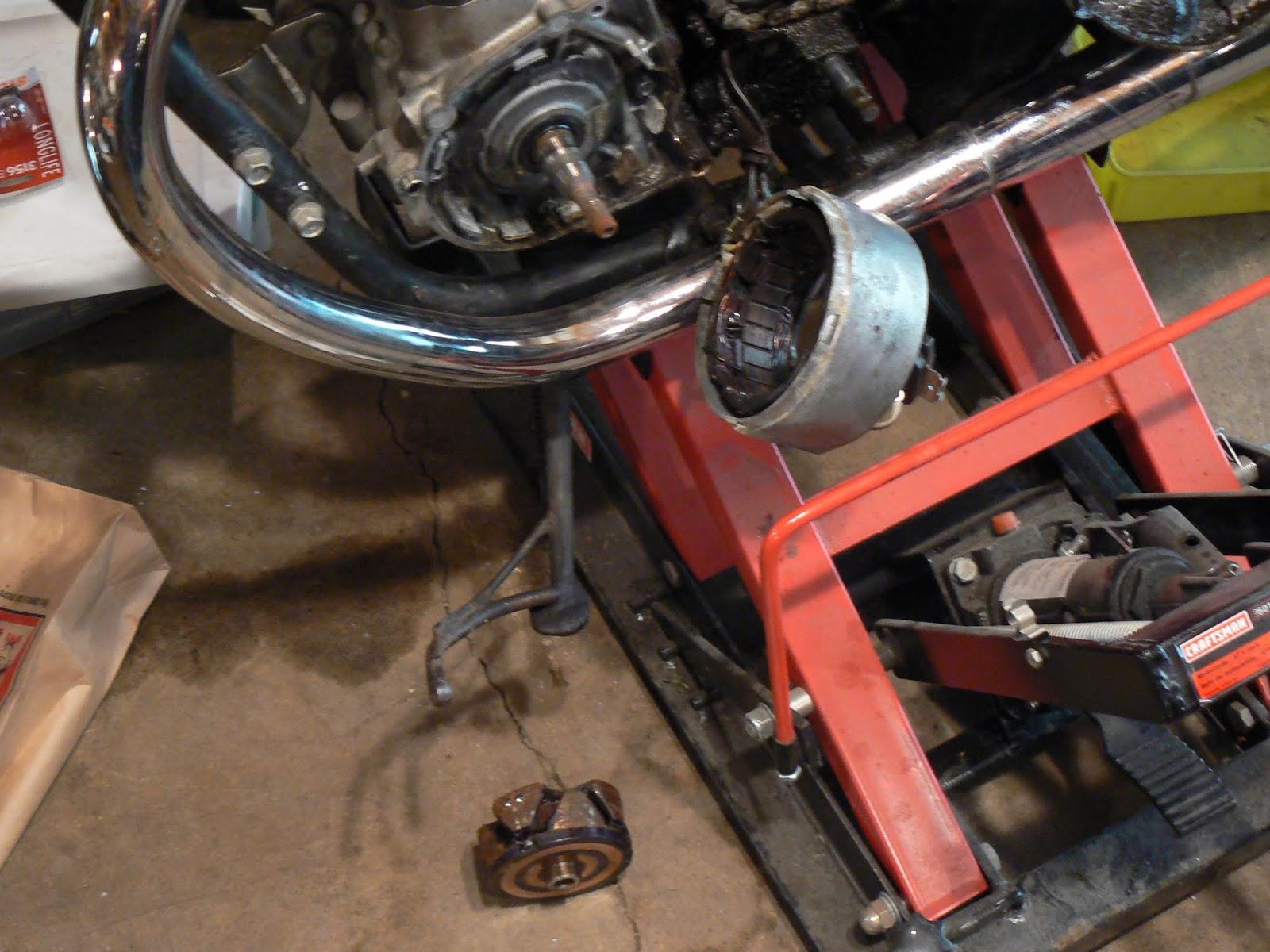 Charging system - XS650 Repair