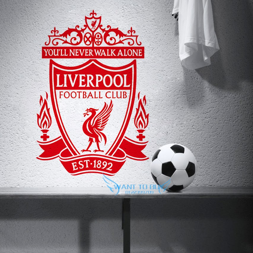 liverpool football club wall stickers and window stickers home deco 11street malaysia wall. Black Bedroom Furniture Sets. Home Design Ideas
