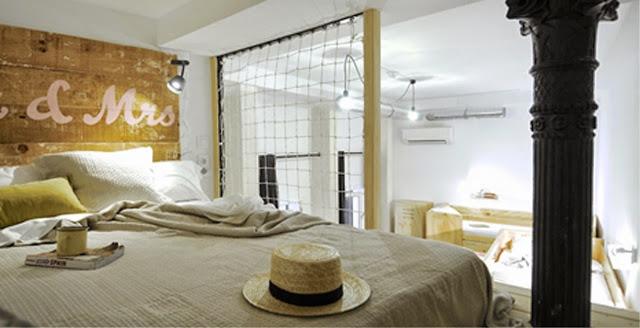 Dormitorio del hostel