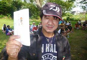 28位 本間衡選手 ブービー賞