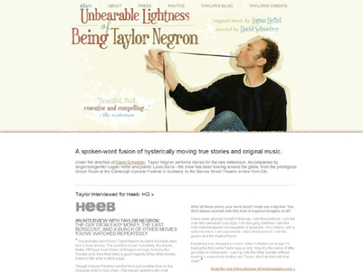 The Unbearable Lightness of Being Taylor Negron