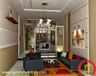 Mẫu thiết kế nội thất nhà phố 710