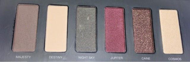 Pur minerals eyeshadow palette, jupiter ascending