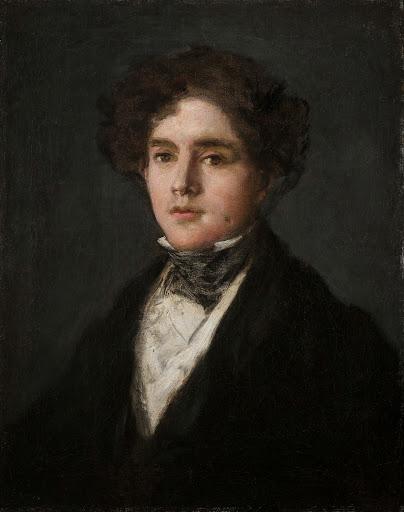 Francisco José de Goya y Lucientes (1746-1828), Portrait of Mariano Goya, the Artist's Grandson, 1827, oil on canvas