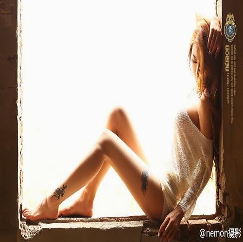 289cba6e69bb958716924f247c67e4ef Jin Mei Xin khoe hình xăm cực đẹp đầy gợi cảm