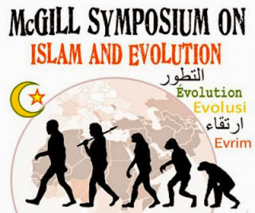 At Mcgill For Islam And Evolution Symposium