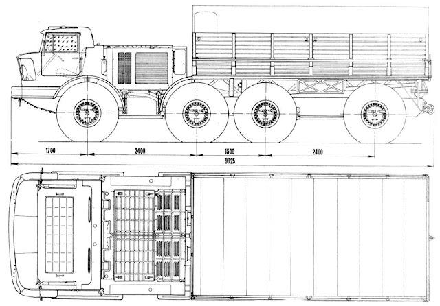 [Axial SCX 10] Le ZIL135 de totof1965 Zil135l-1