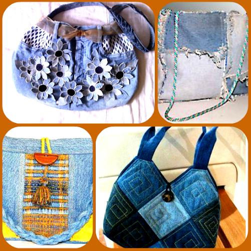 Sumki iz dzhinsovoy tkani