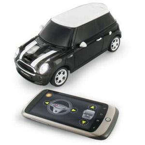 Review Nokia N8 Controlled BeeWi Mini Cooper S