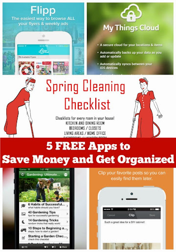 5 Free Apps to Save Money and Get Organized for Spring