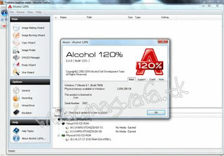 Alcohol 120% 2.0.0.1331 Downnload Full Serial Crack Keygen MasWafa