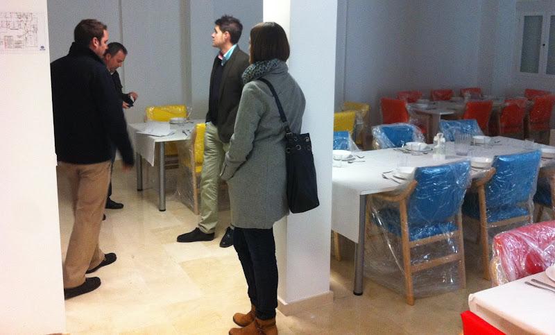 Visita a Residencias del Alcalde de Lanjarón junto a Técnicos y Arquitectos de Diputación de Granada