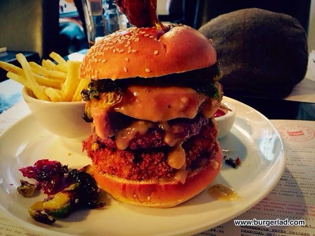 SoLIta Manchester Christmas Burger