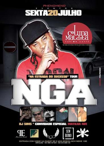 concerto, NGA, Matilha 401, DJ SIMS, Évora